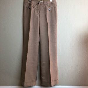 Anthropologie wool cuffed wide leg pant